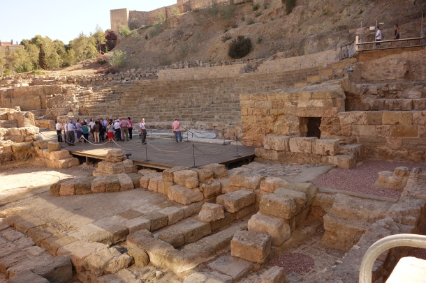 "On the more ""mundane"" route, we came upon a Roman amphitheater that was rediscovered in 1951."